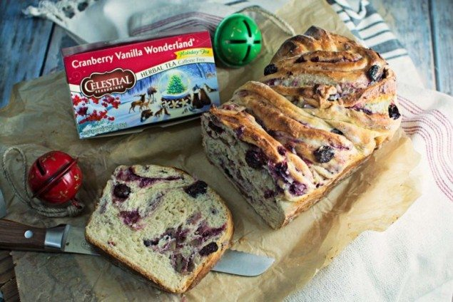 Cream Cheese Cranberry Babka