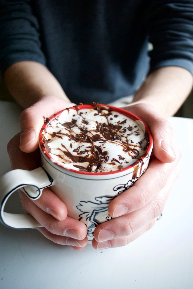 Hot Cocoa - Simple, homemade hot cocoa. Perfect for a chilly day.