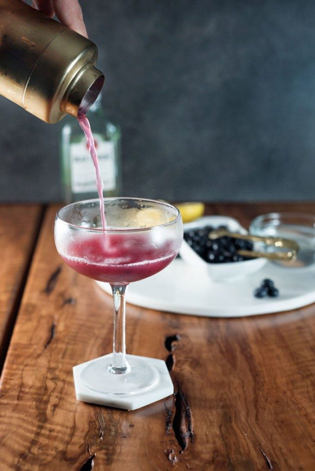 The Blueberry Honeybee Cocktail