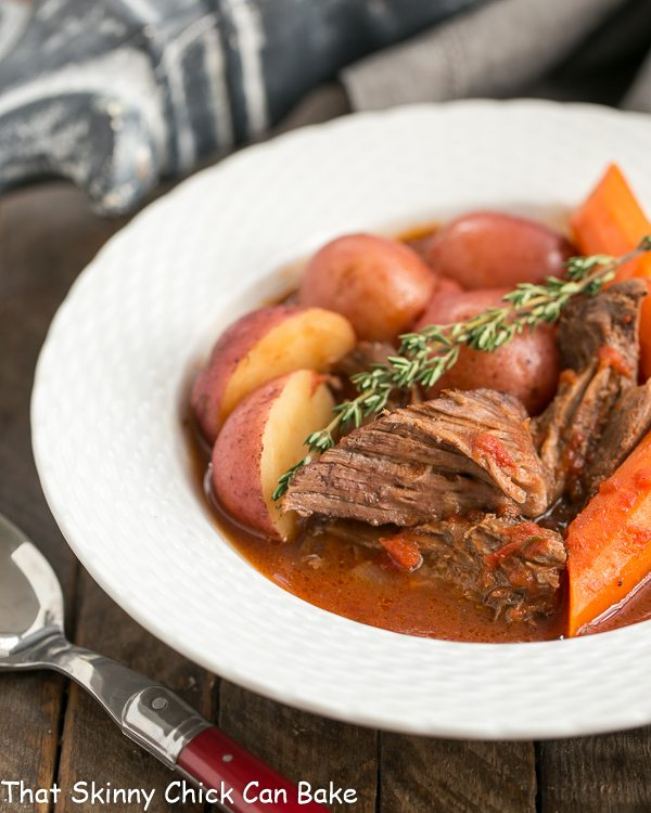 Easy Tomato Pot Roast