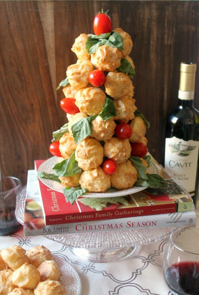 Italian Cheese Puffs