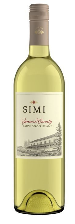 SIMI Sonoma County Sauvignon Blanc 750ml Bottle Shot (2)