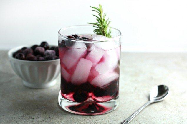 Blueberry Elderflower Smash