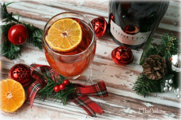 Clementine Christmas Spritz