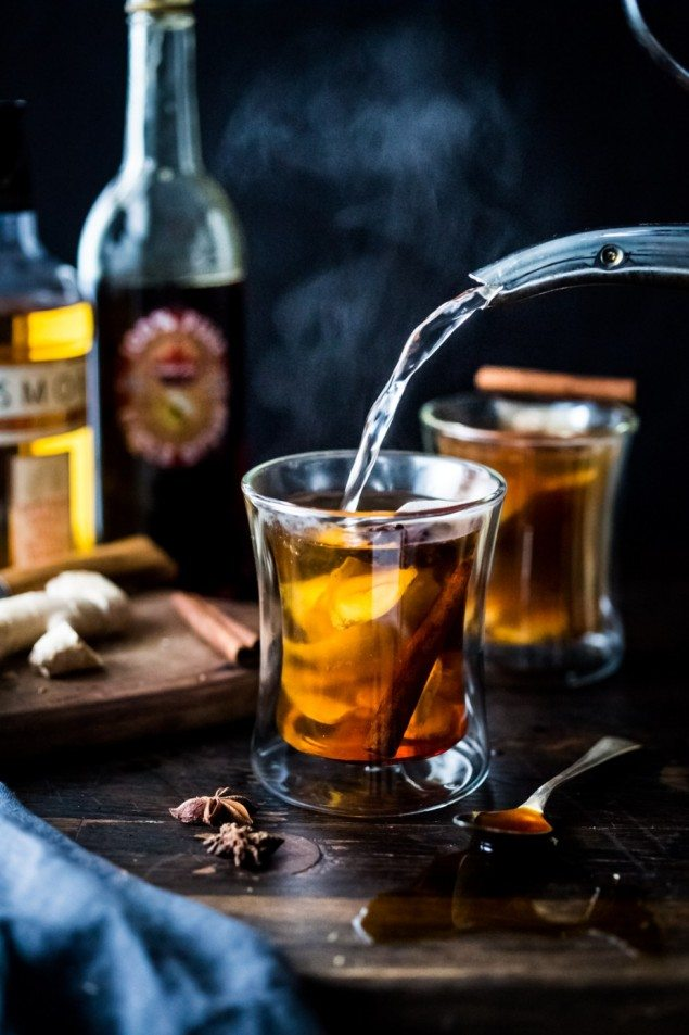 Maple Gingerbread Hot Toddy
