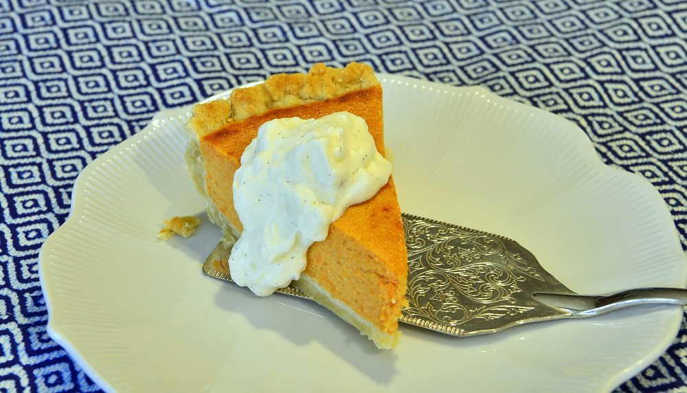 Decadent and sinfully rich this Sweet Potato Cheesecake Pie is sure to please. Image Kurt Winner