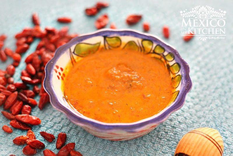 salsa de chile piquin 11A