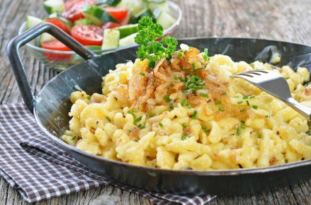 Spaetzle – Little Pasta 'Sparrows' From Sudtirol