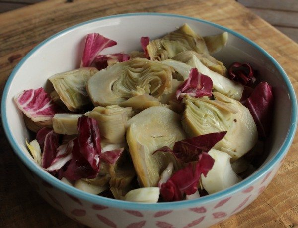 Artichoke and Radicchio Salad