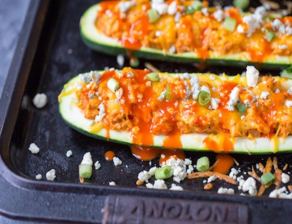 Buffalo-Turkey-Stuffed-Zucchini-Boats-7