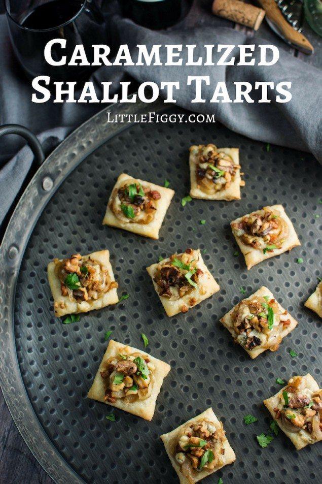 Caramelized Shallot Bites