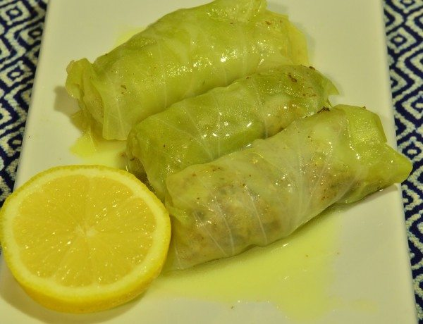 HC Dolmades with lemon sauce