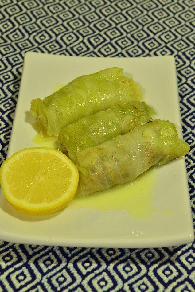 HC Dolmades with lemon sauce