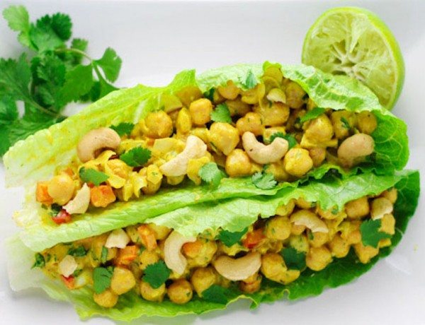 Healthy-Curry-Chickpea-Lettuce-Wraps-1