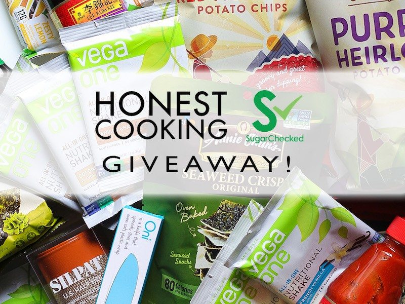 HonestCooking SugarChecked Giveaway w Text