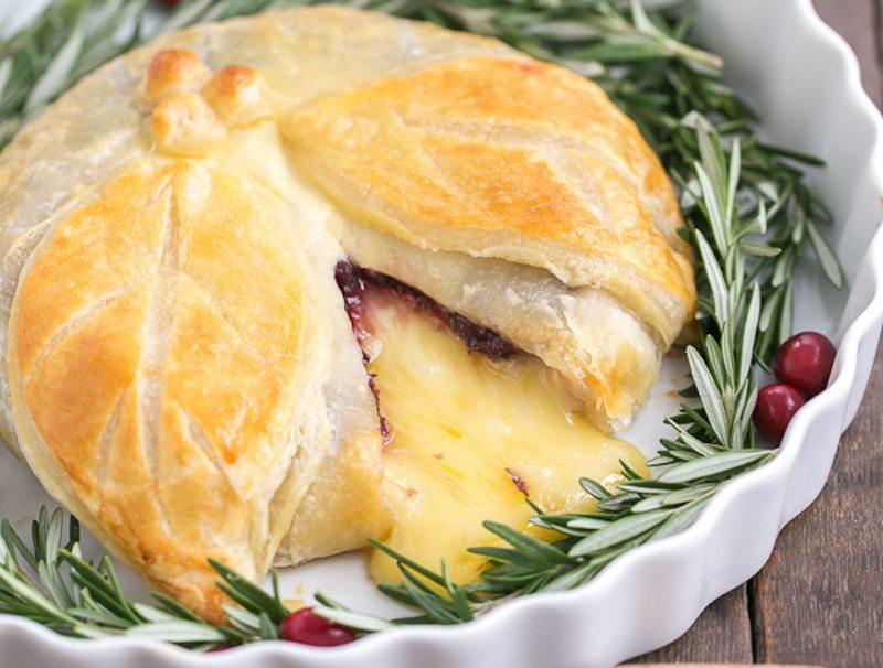 Cranberry Brie En Croute