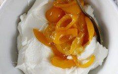 Labneh with Stewed Kumquats