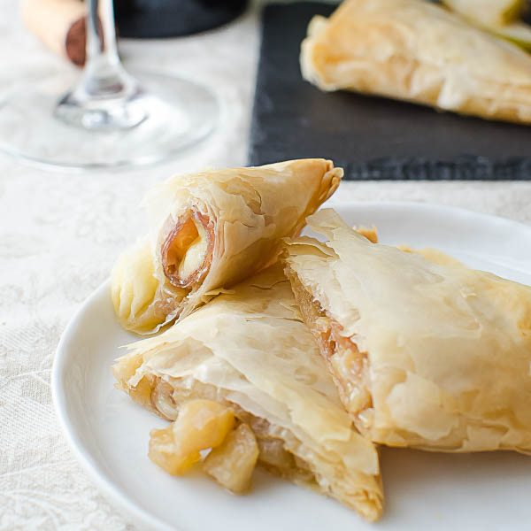 Brie and Pear Pockets