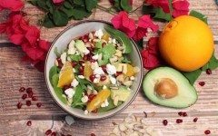 Pomegranate-Orange-Salad-overhead