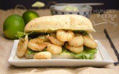 Shrimp-with-Avocado-Mayo-Sandwich
