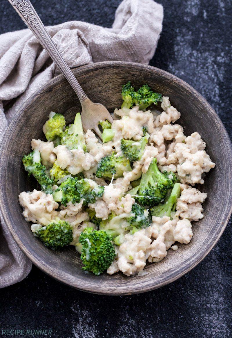Turkey-Broccoli-and-Swiss-Skillet-Dinner