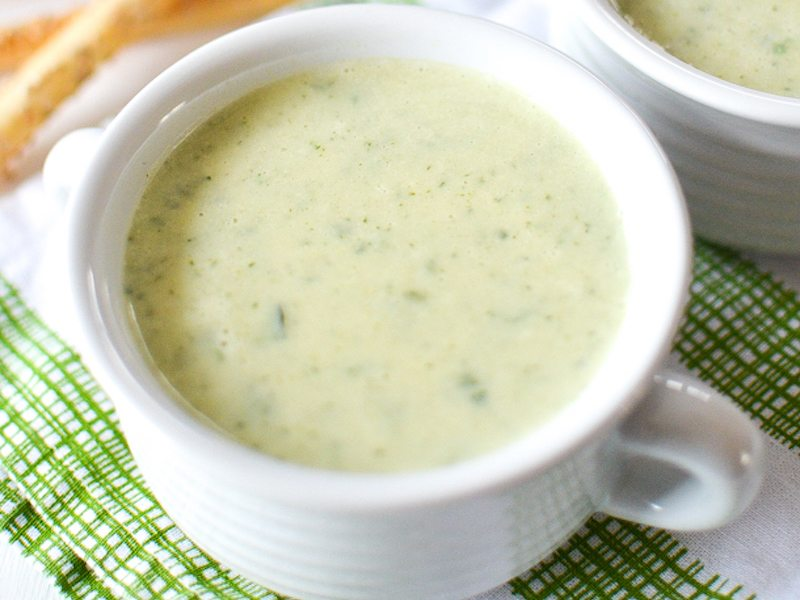Creamy Zucchini and Basil Soup – Honest Cooking