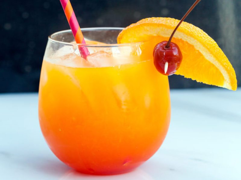 Vanilla tequila sunrise for Best tequila for tequila sunrise