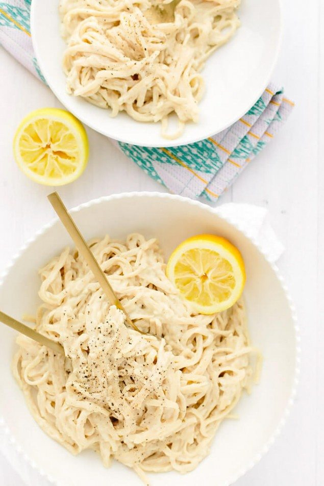 Vegan Lemon Pepper Pasta