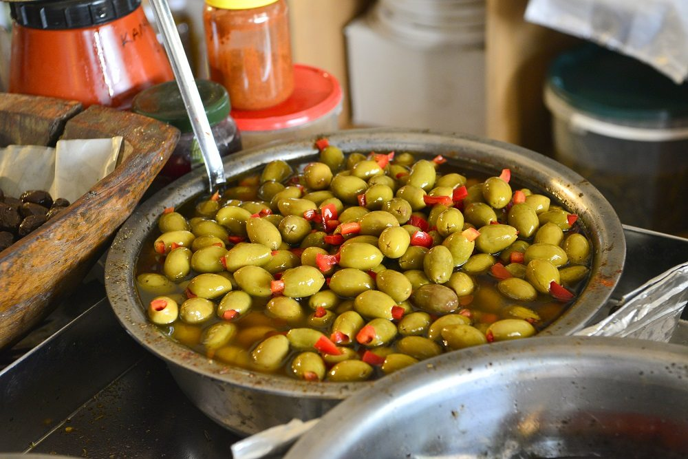 You can find some the best olives and olive oil in the municipality of Loutraki. Image: Kurt Winner