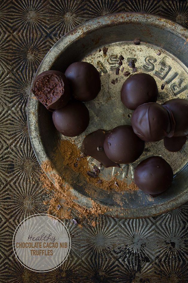 Cacao Nib Energy Truffles