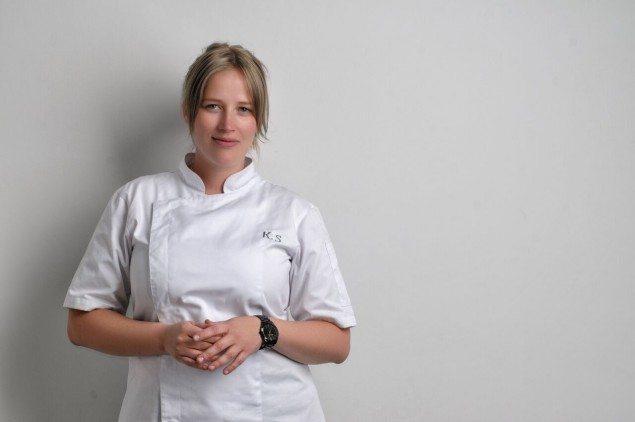 (Danish chef Kamilla Seidler. Photo: Luis Fernández)