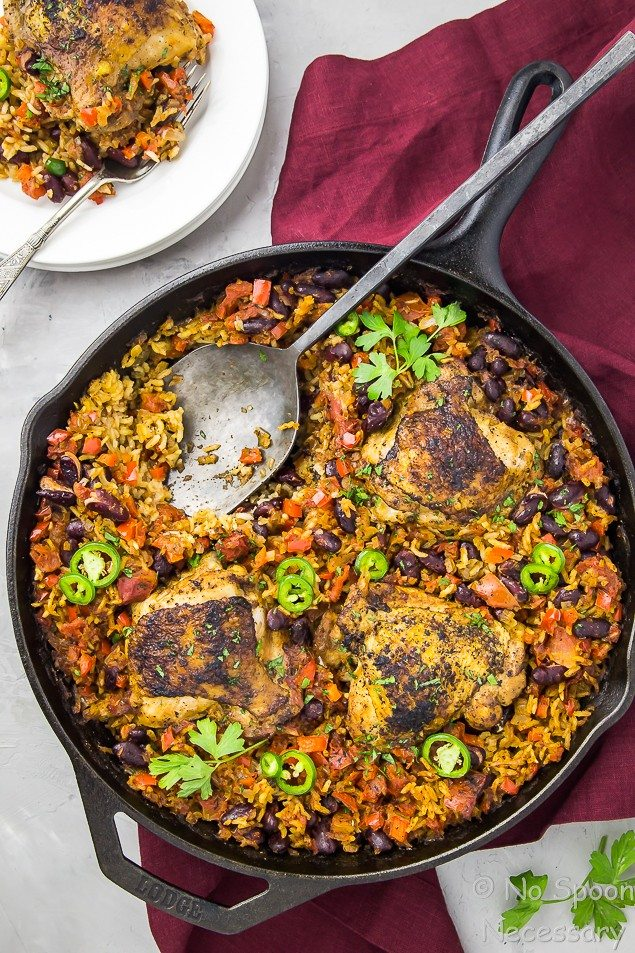 Red Beans and Rice Chicken
