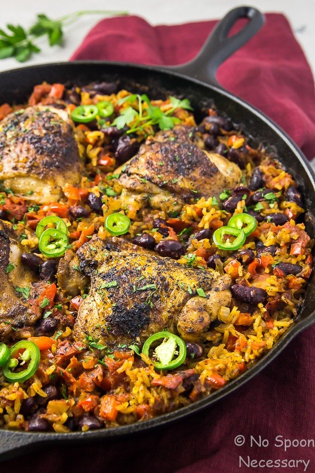 One-Skillet-Cajun-Chicken-Red-Beans-Rice-80