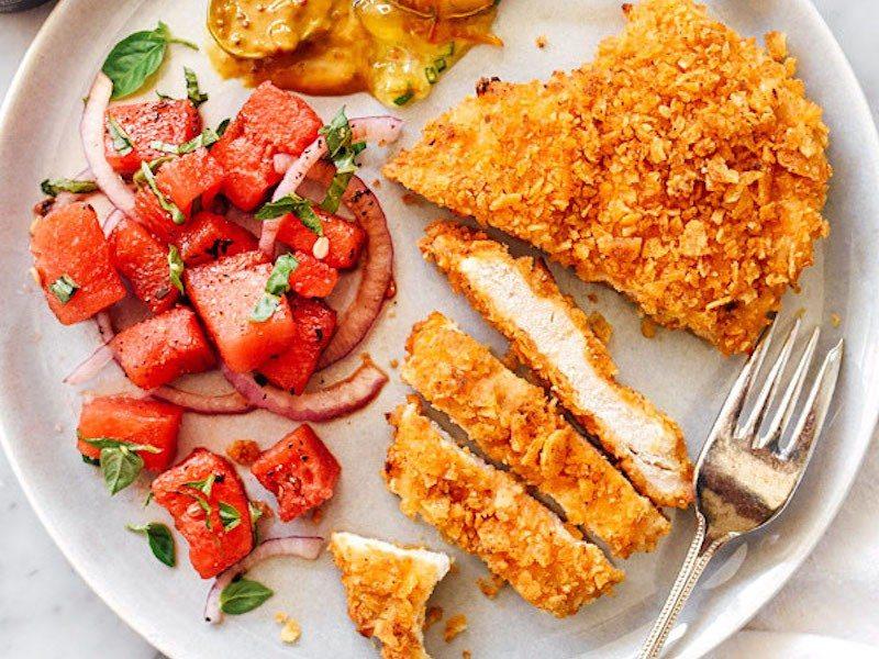 Potato-Chip-Crusted-Chicken-Breasts-foodiecrush.com-0010