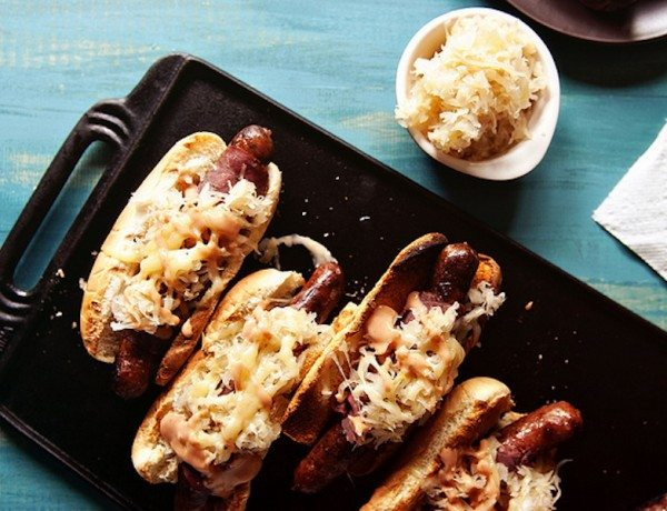 reuben-hot-dog
