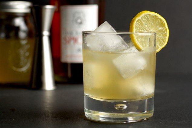 Ginger Rum Fizz