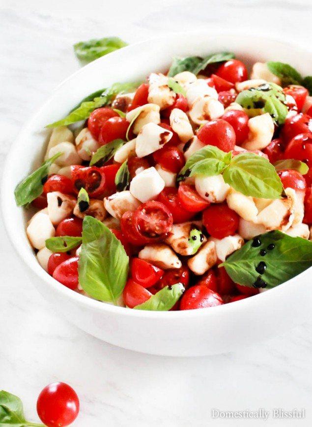 Gnocchi-Caprese-Salad