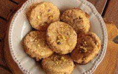 Vegan Pistachio Cookies