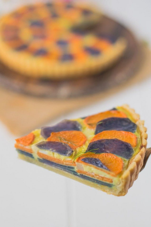 Layered Potato Quiche