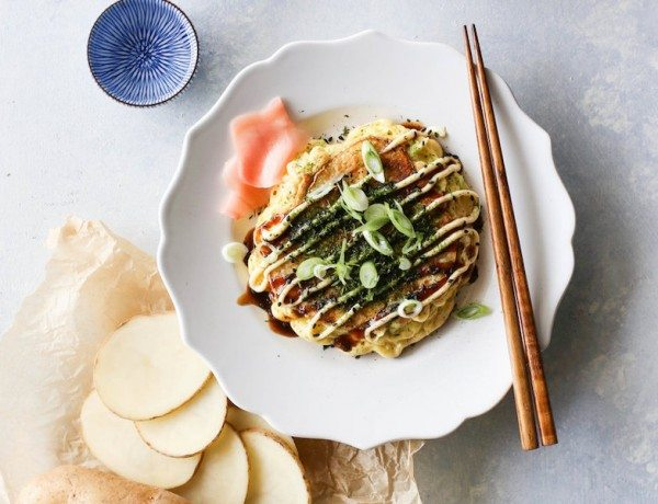 Potato+Okonomiyaki