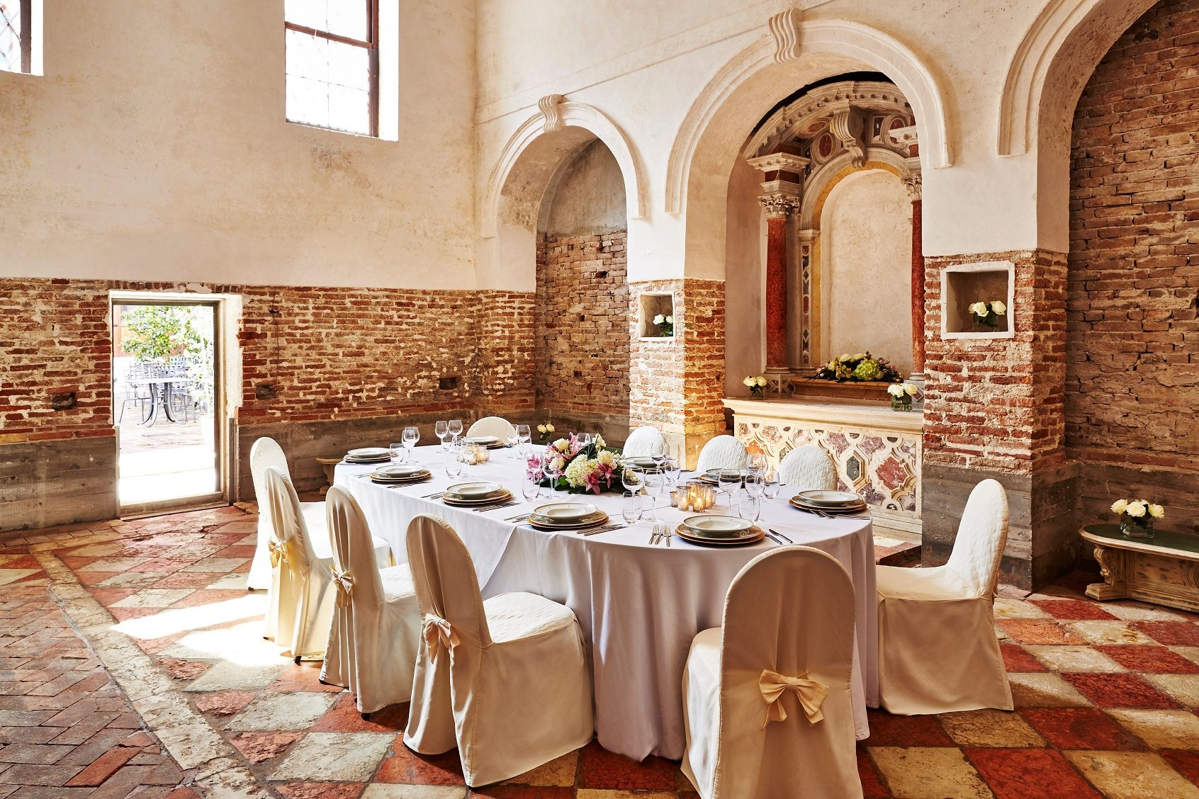 San Clemente Palace Kempinski_Sacristy private dining