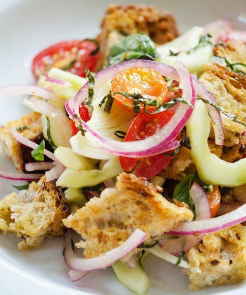 Panzanella – Tuscan Bread Salad