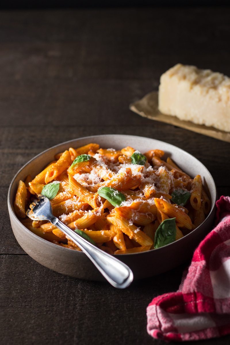 how to make penne ala vodka sauce