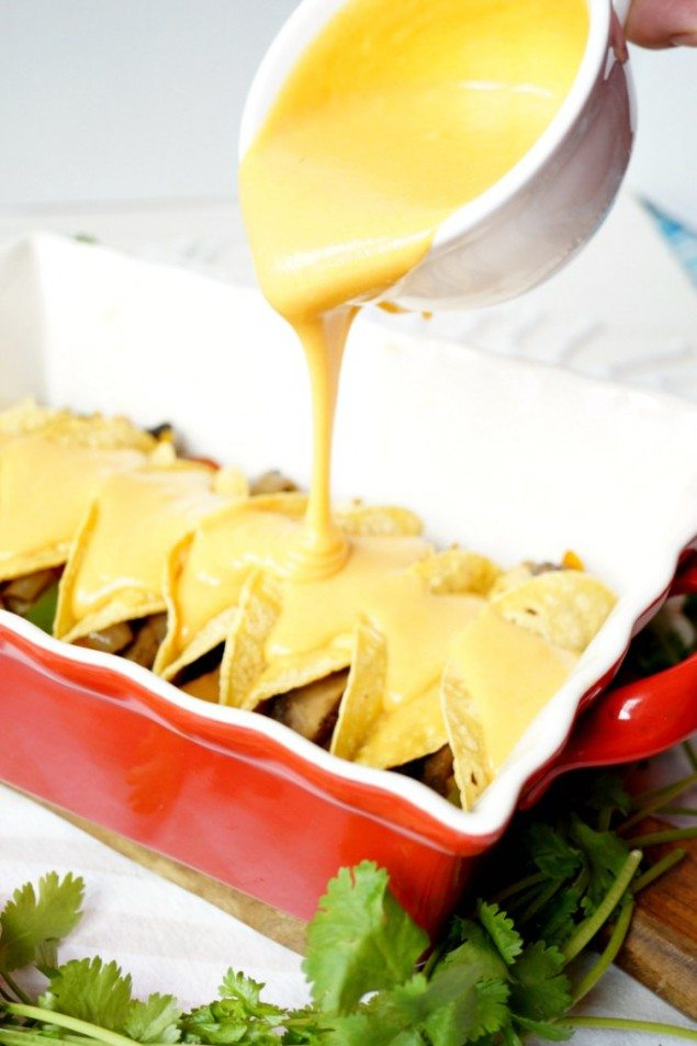 Vegan Potato Fajita Enchiladas