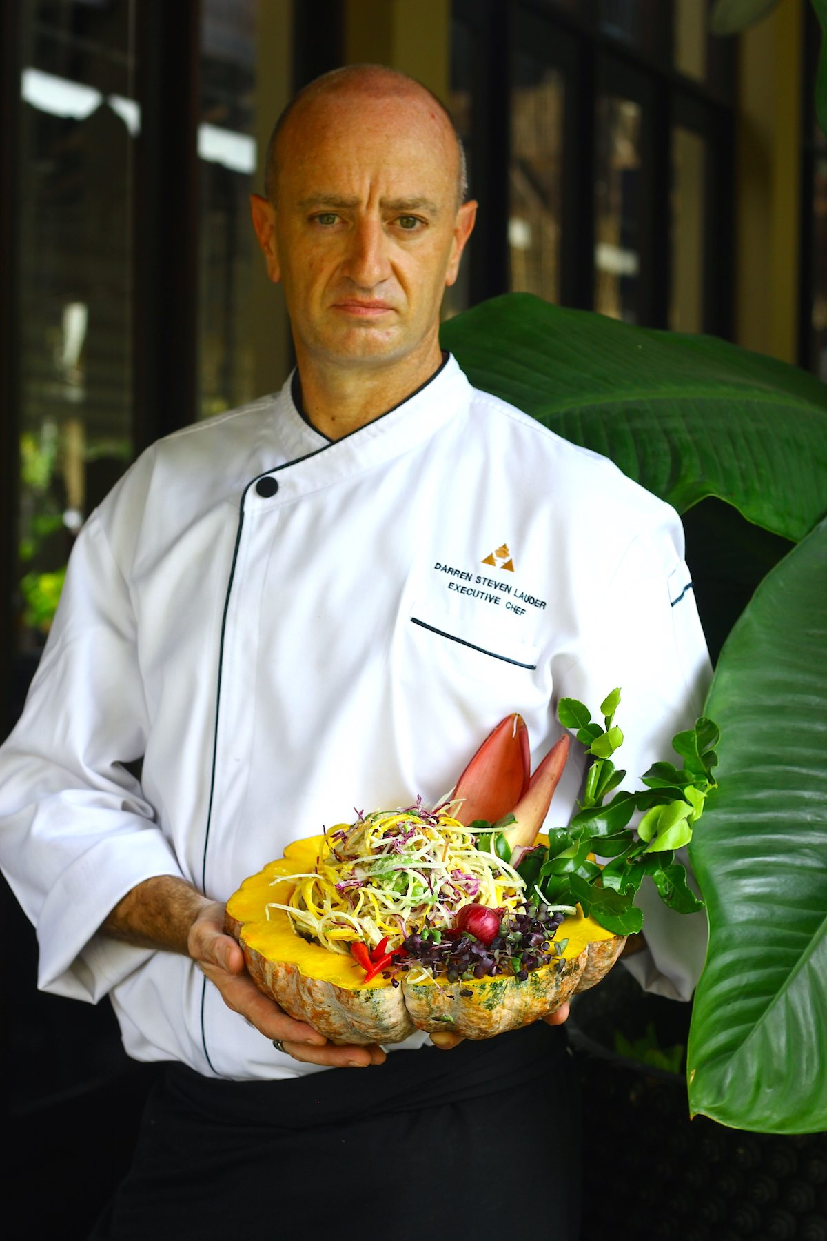 Chef Darren Lauder