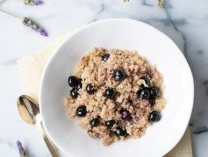 Coconut-Blueberry-Quinoa