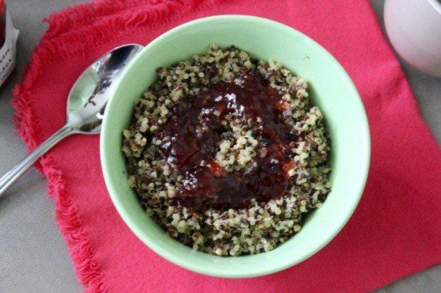 Strawberry Breakfast Quinoa