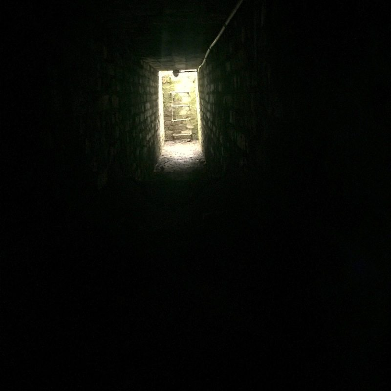 Tunnel to the basement