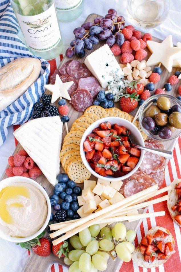 National Pinot Grigio Day: Ultimate Memorial Day Cheeseboard