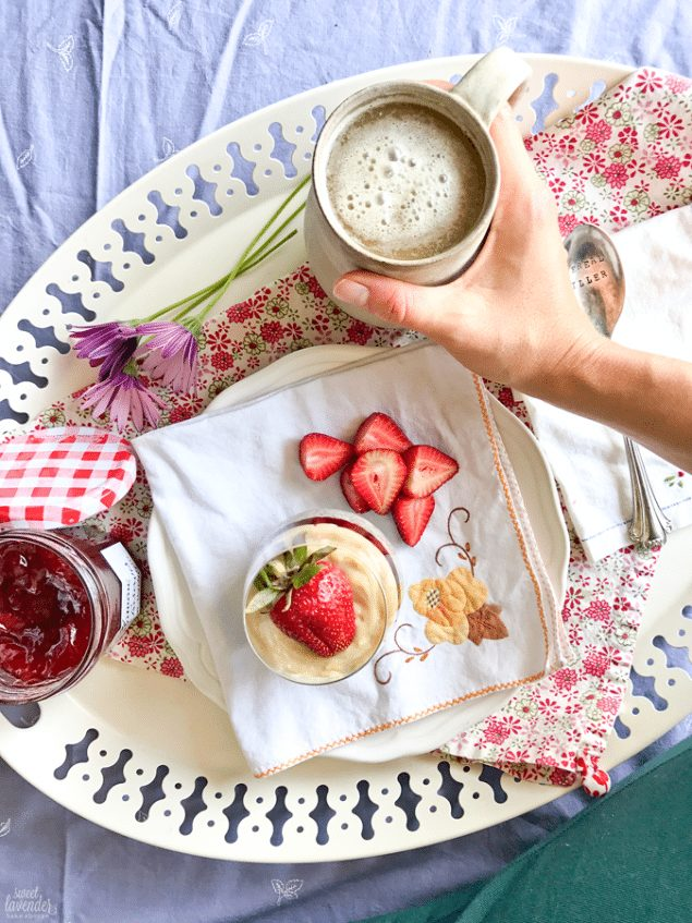 Strawberry Chia Parfait